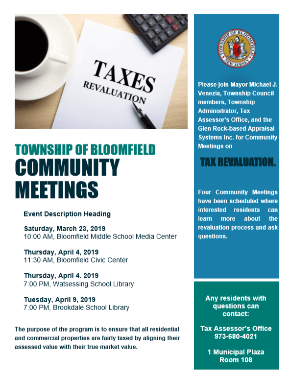 property tax community meeting