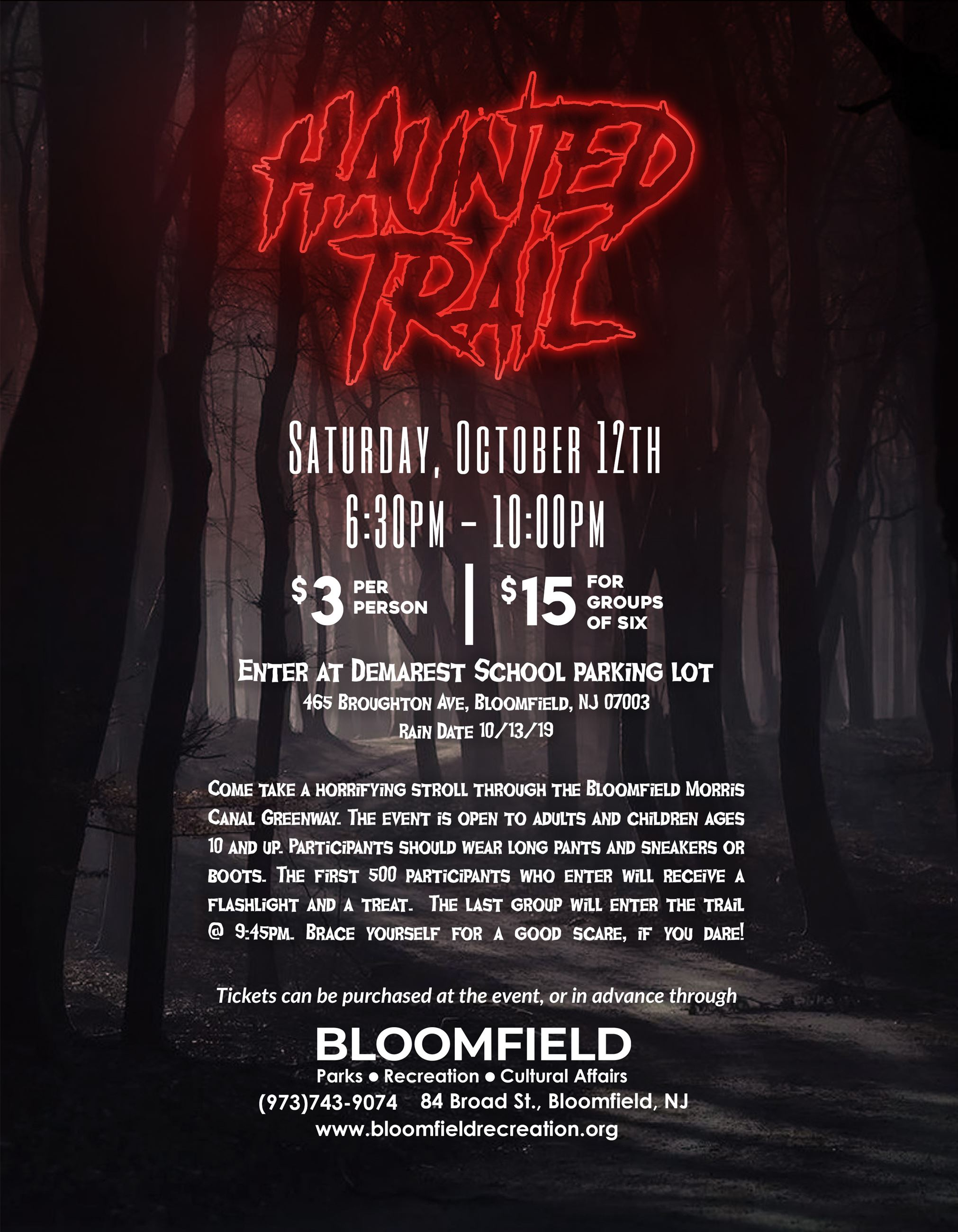 Haunted Trail 2019