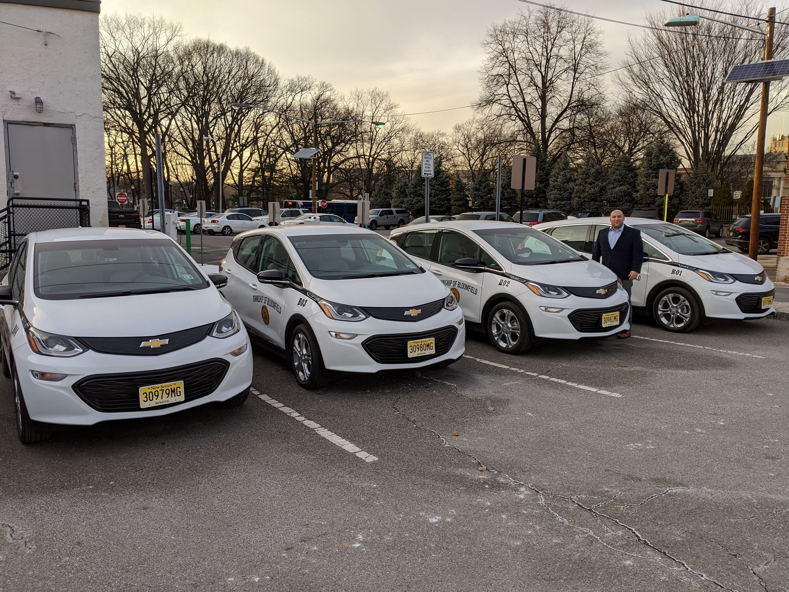 Mayor Venezia and new electric fleet