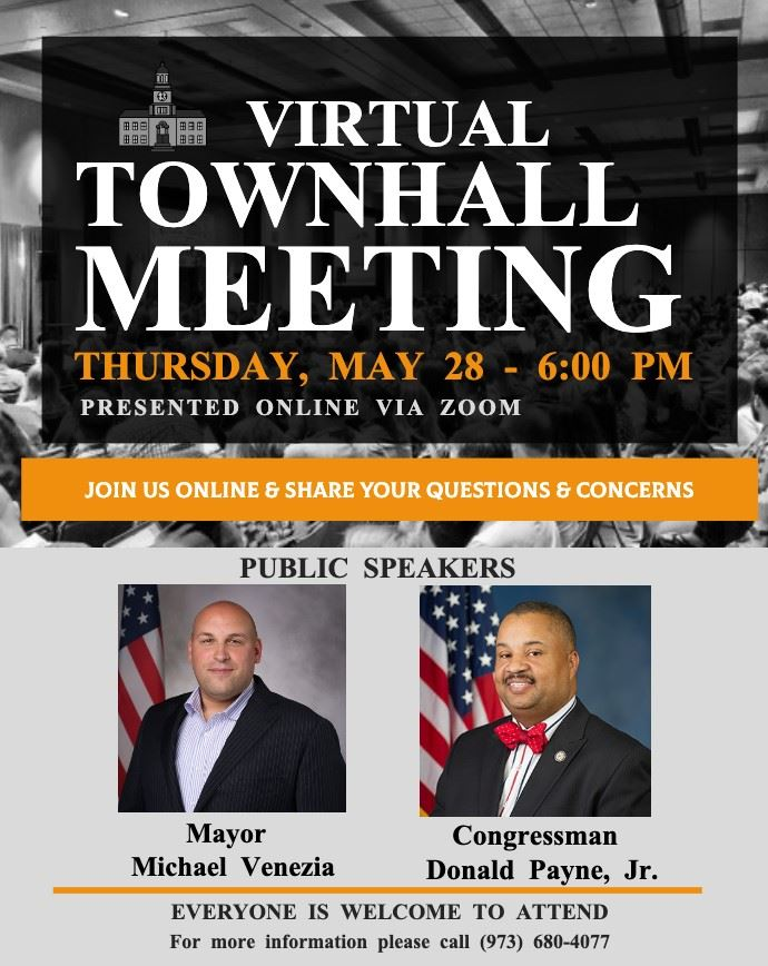 Town Hall Meeting Flyer Venezia  Payne