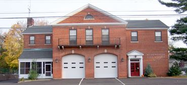 Front View of Fourth Fire Station
