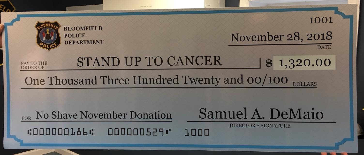 Stand up to Cancer Check