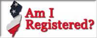 Am I registered Website