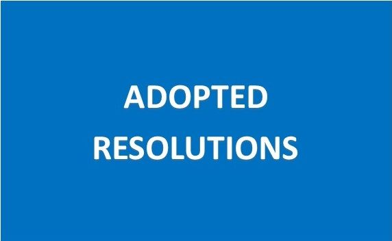 Resolutions Button