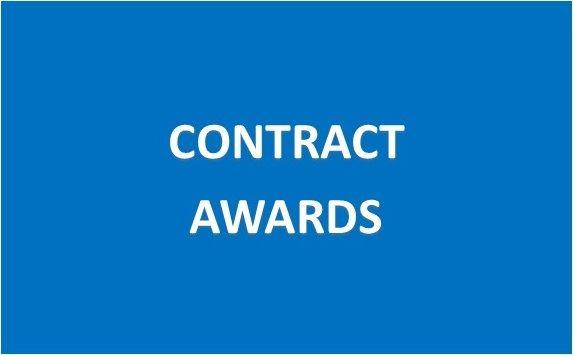 Contract Awards Button