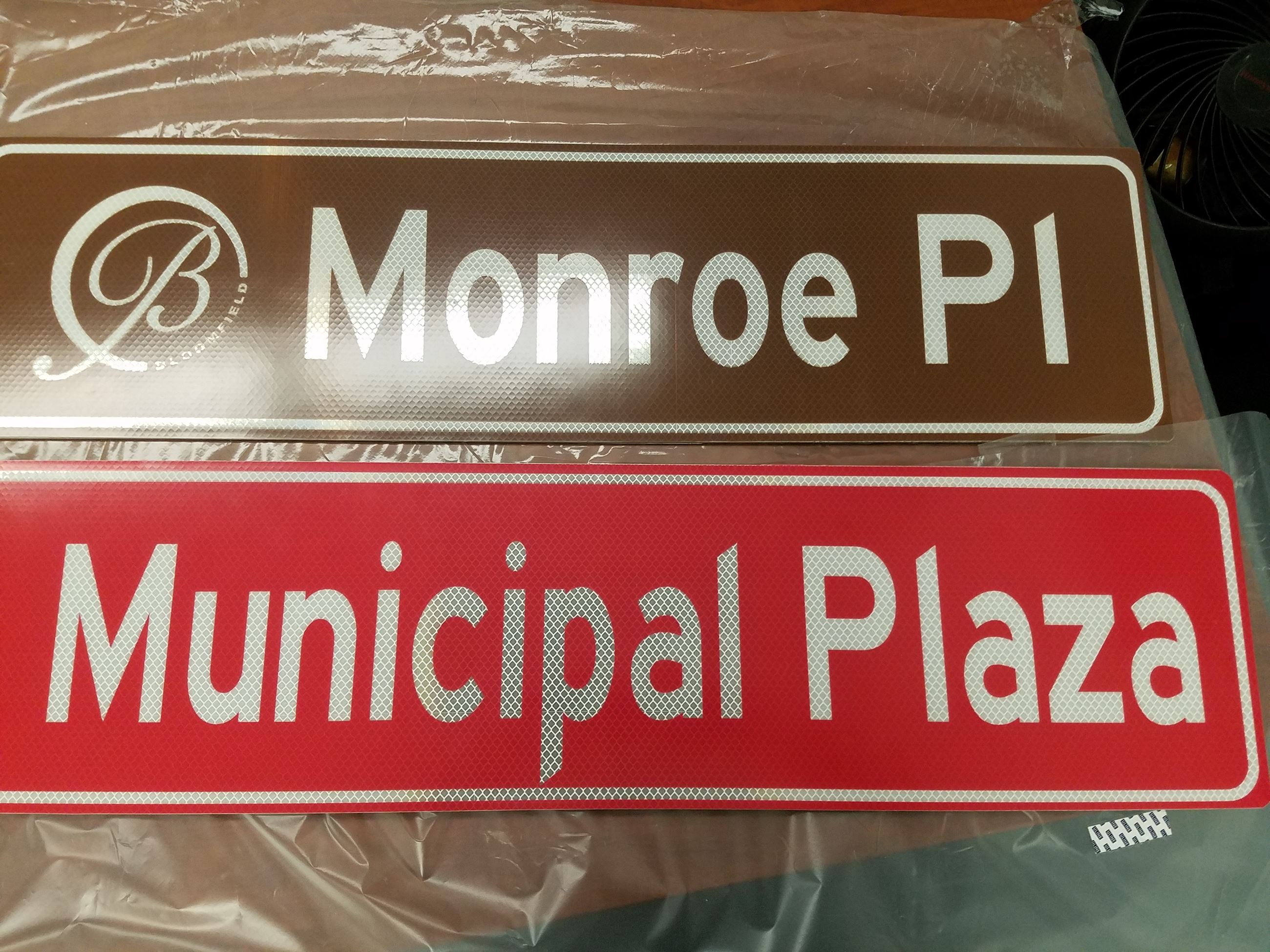 New Street Signs